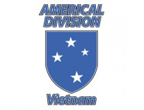 AMERICAL DIVISION VIETNAM DECAL