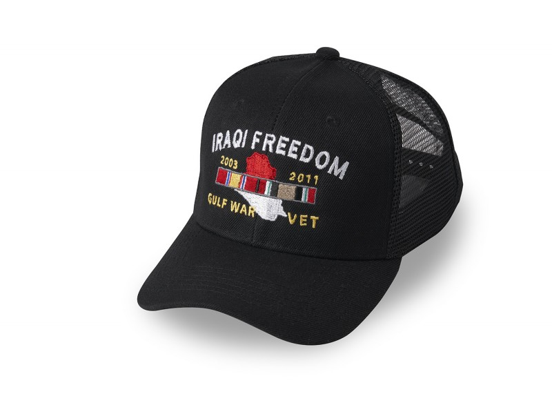 IRAQI FREEDOM CUSTOM VETERAN CAP