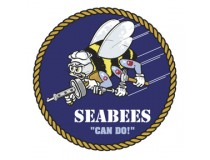 NAVY SEABEES  CAN DO  DECAL