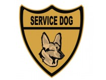 SERVICE DOG DECAL