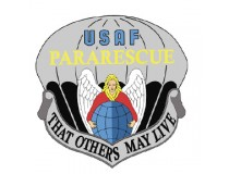 AIRFORCE PARA RESCUE DECAL