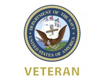 US NAVY VETERAN DECAL