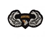 101ST ARIRBORNE WITH JUMP WINGS PATCH