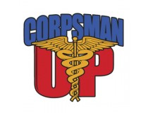 CORPSMAN UP DECAL