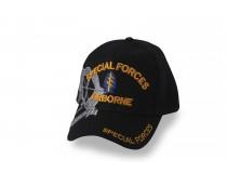 SPECIAL FORCES AIRBORNE BLACK CAP