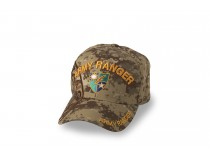 75TH AIRBORNE RANGERS TAN CAMO CAP