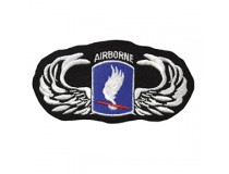 173 AIRBORNE WITH JUMP WINGS PATCH