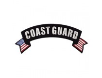 US COAST GUARD  TOP ROCKER PATCH