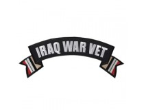 IRAQ WAR VET TOP ROCKER PATCH