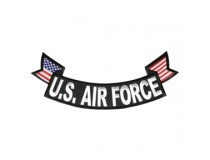 US AIRFORCE BOTTOM ROCKER PATCH