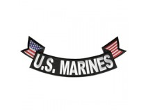 US MARINES BOTTOM ROCKER PATCH