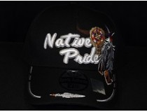 NATIVE PRIDE FEATHERS CAP