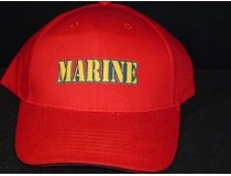 US MARINE CORPS RED CAP