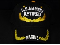 US MARINE CORPS RETIRED SCRAMBELD EGG CAP