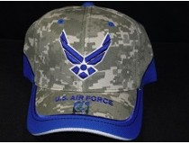 DIGITAL BLUE AIRFORCE CAP
