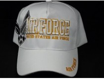 WHITE AIRFORCE CAP