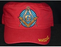 MASONIC CADET RED CAP