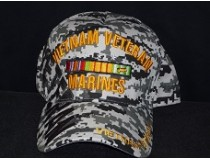 DIGITAL MARINES VIETNAM WAR RIBBON CAP