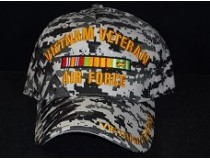 DIGITAL CAMOUFLAGE VIETNAM AIRFORCE RIBBON CAP