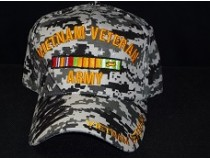 DIGITAL CAMOUFLAGE ARMY VIRTNAM SERVICE RIBBON CAP