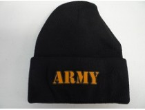 BLACK ARMY STOCKING CAP