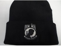 POW BLACK STOCKING CAP