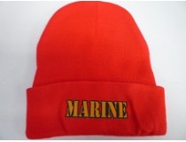 MARINE RED STOCKING CAP