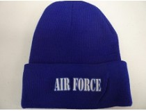 AIRFORCE BLUE STOCKING CAP