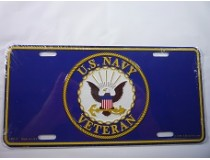 NAVY LISCENCE PLATE *MADE IN USA*