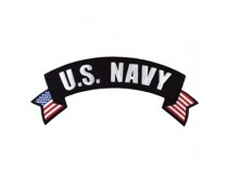US NAVY TOP ROCKER PATCH