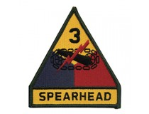 3d ARMORED DIVISION PATCH