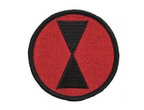 7th INFANTRY DIVISION UNIT PATCH
