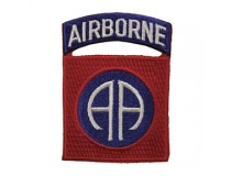 82 AIRBORNE ROCKER TAB PATCH
