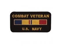 US NAVY COMBAT ACTION RIBBON PATCH