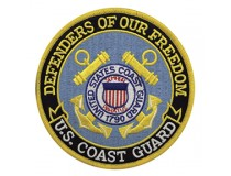 "5"" US COAST GUARD OFFICIAL PATCH"