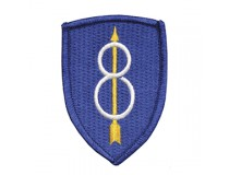 8th INFANTRY DIVISION UNIT PATCH