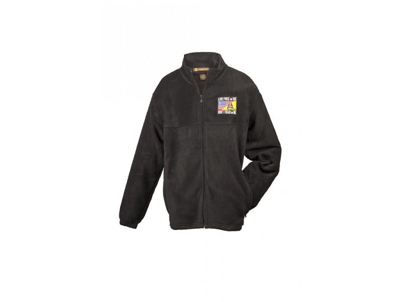 Seasonal Custom Sewn Patch Fleece Jacket
