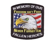 IN MEMORY OF FALLEN HEROES PATCH