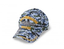 US NAVY SUBMARINE CAMOUFLAGE BLUE DIGITAL CAP