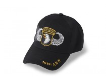 101st AIRBORNE CAP WITH JUMP WINGS