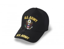US ARMY EAGLE GOLD LETTERS BLACK CAP MY FAVORITE