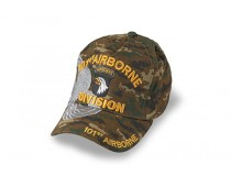 101ST AIRBORNE DIVISION CAP DARK BROWN DIGITAL CAMO
