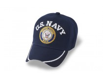 *NEW * US NAVY INSIGNIA ACRYLIC  BILL AWESOME CAP