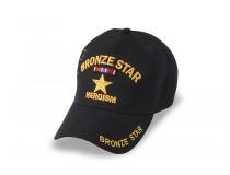 BRONZE STAR RIBBON ABOVE STAR CAP
