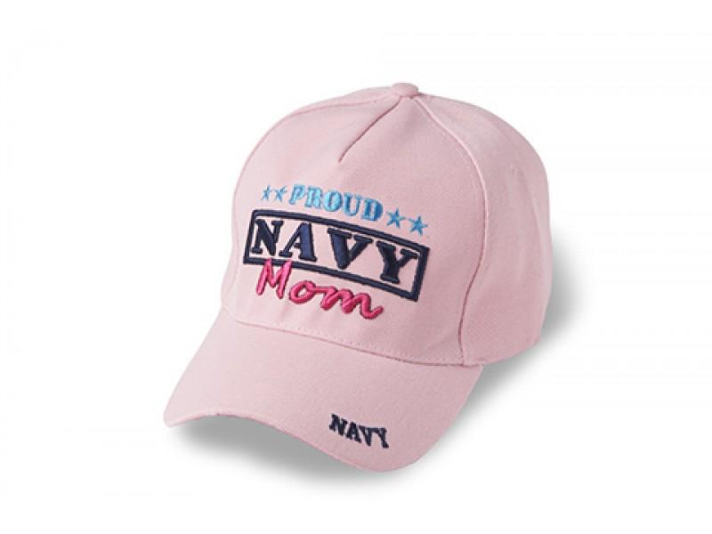 PINK NAVY MOM CAP