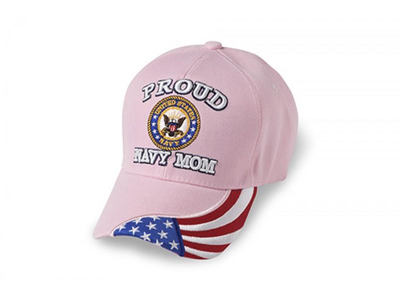 PINK PROUD NAVY MOM CAP