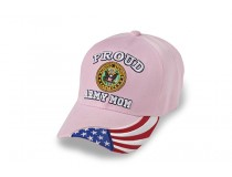 PROUD ARMY PINK CAP