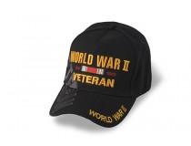 WWII RIBBON VETERAN CAP