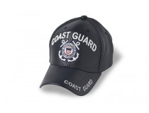 COAST GUARD LEATHER CAP