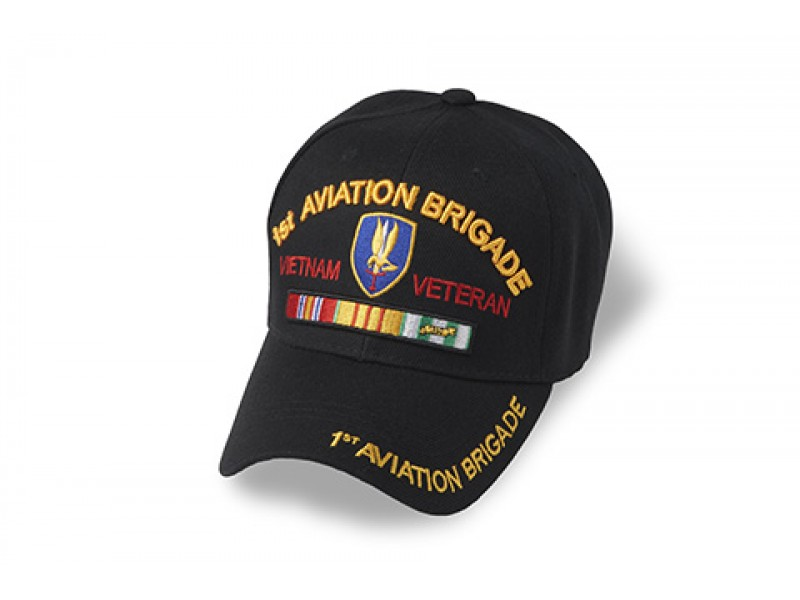 1ST AVIATION BRIGADE VIETNAM RIBBON CAP